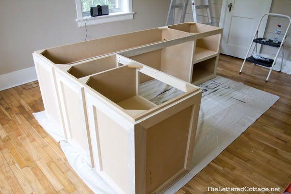 L Shaped Desk Plans Diy  WoodWorking Projects  Plans