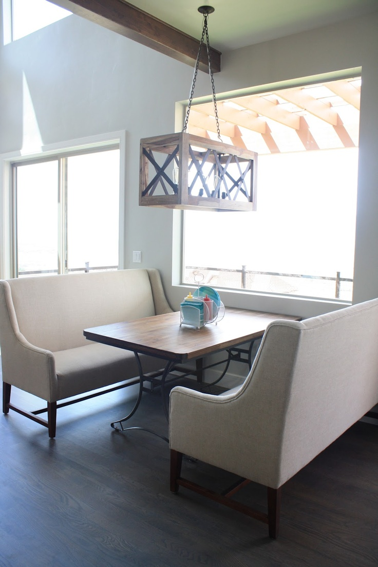 1000 ideas about Dining Room Banquette on Pinterest  Banquettes Banquette seating and
