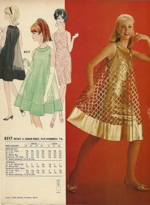 60s trapeze dress sewing pattern  Hairspray  Pinterest
