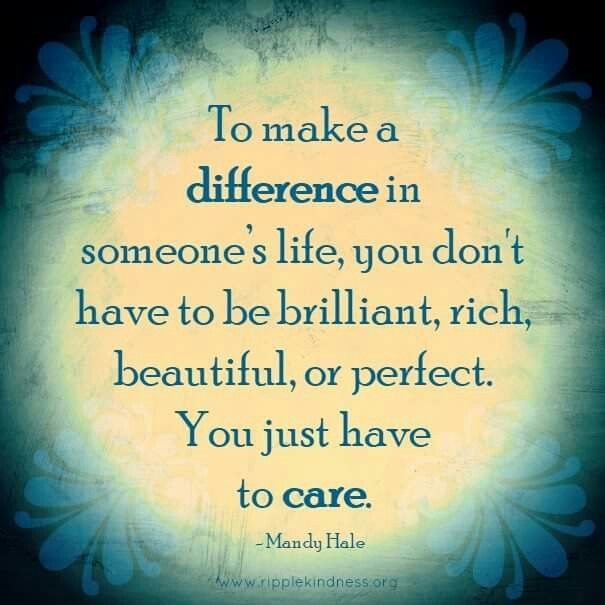 Positive Quotes About Making Difference