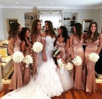 17+ best ideas about Gold Bridesmaid Gowns on Pinterest ...
