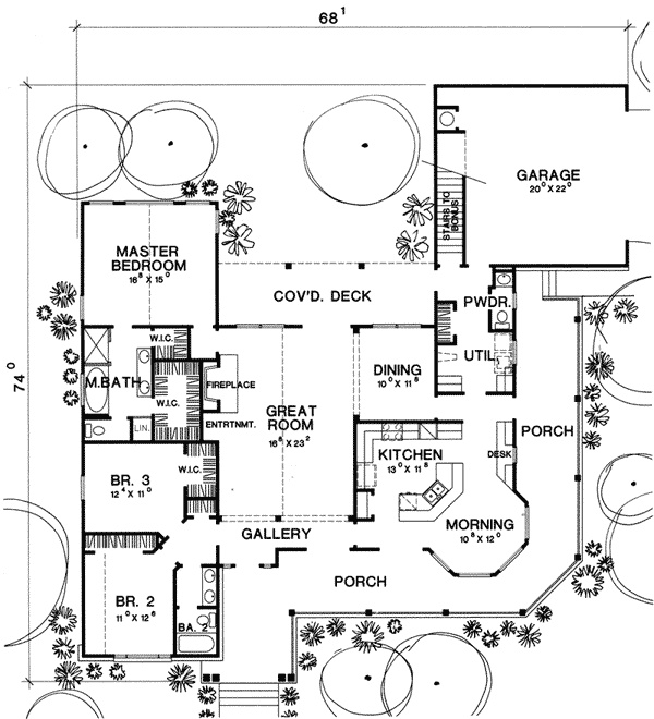25+ best images about Ranch Home Floor Plans on Pinterest