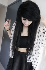 ideas emo hairstyles