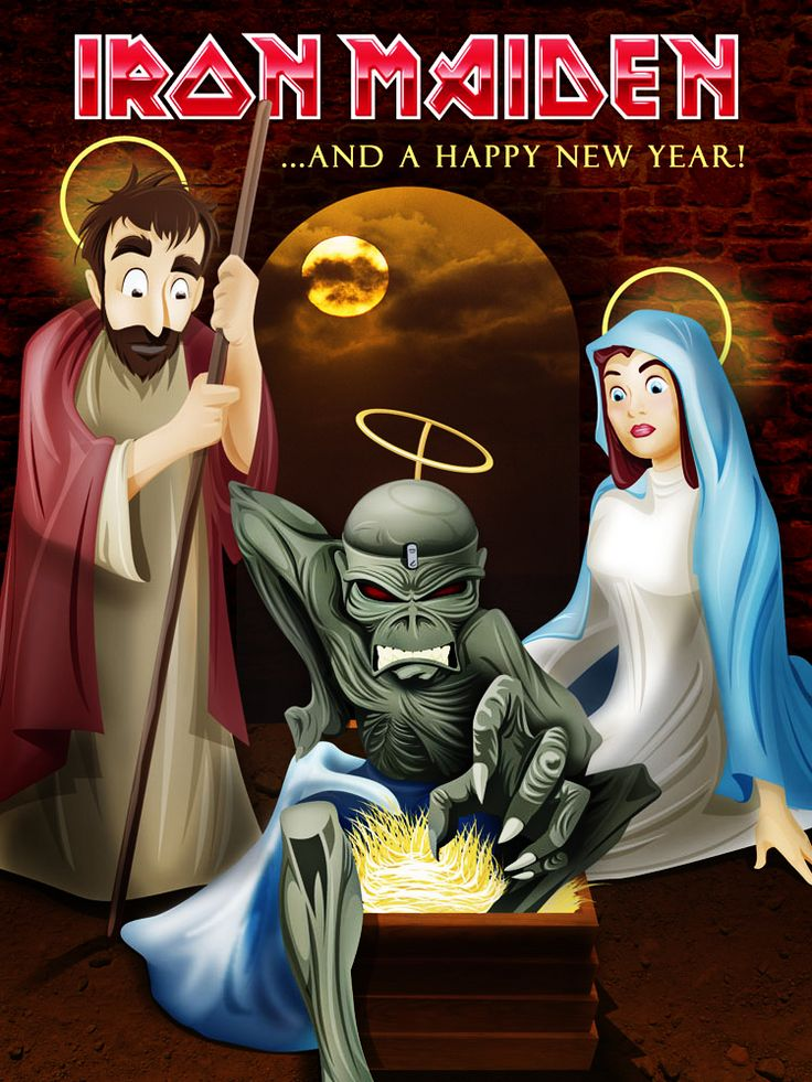 Iron Maiden Xmas Card Competition 2005 Finalist Mio