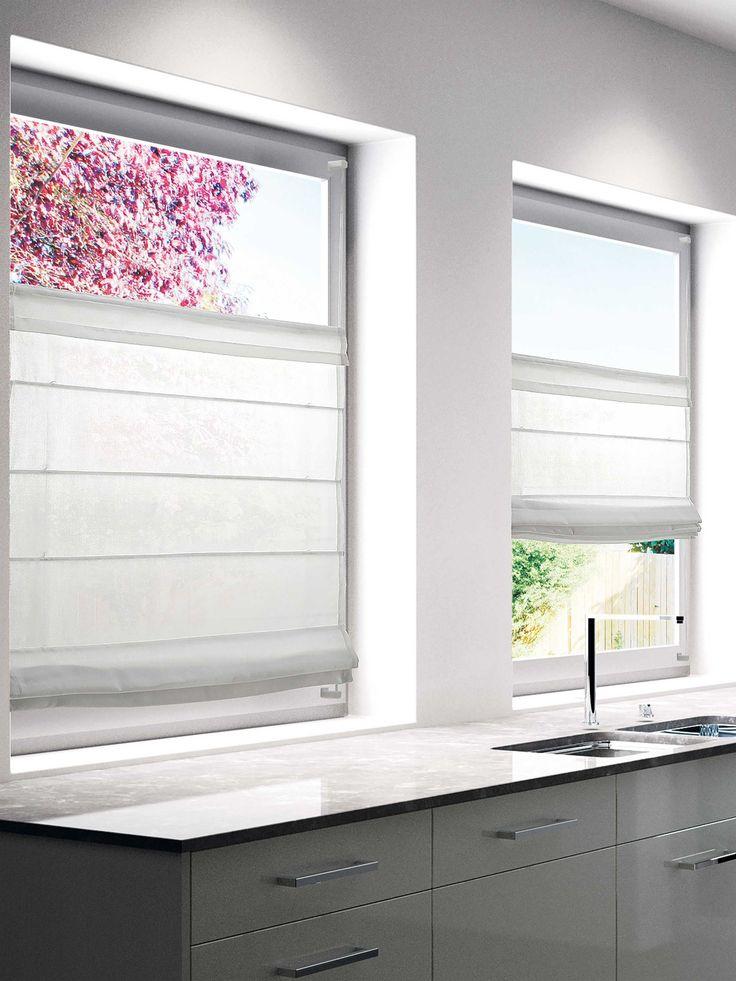 Die besten 25 Sichtschutz Fenster Ideen auf Pinterest  Kchenvorhnge Fliegengitter vorhang