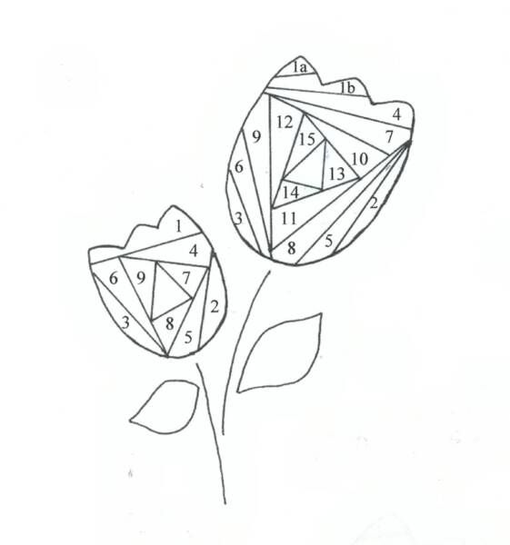 17 Best images about Iris Folding Patterns on Pinterest