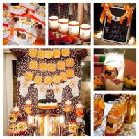fall evening couples baby shower Baby Shower Party Ideas ...