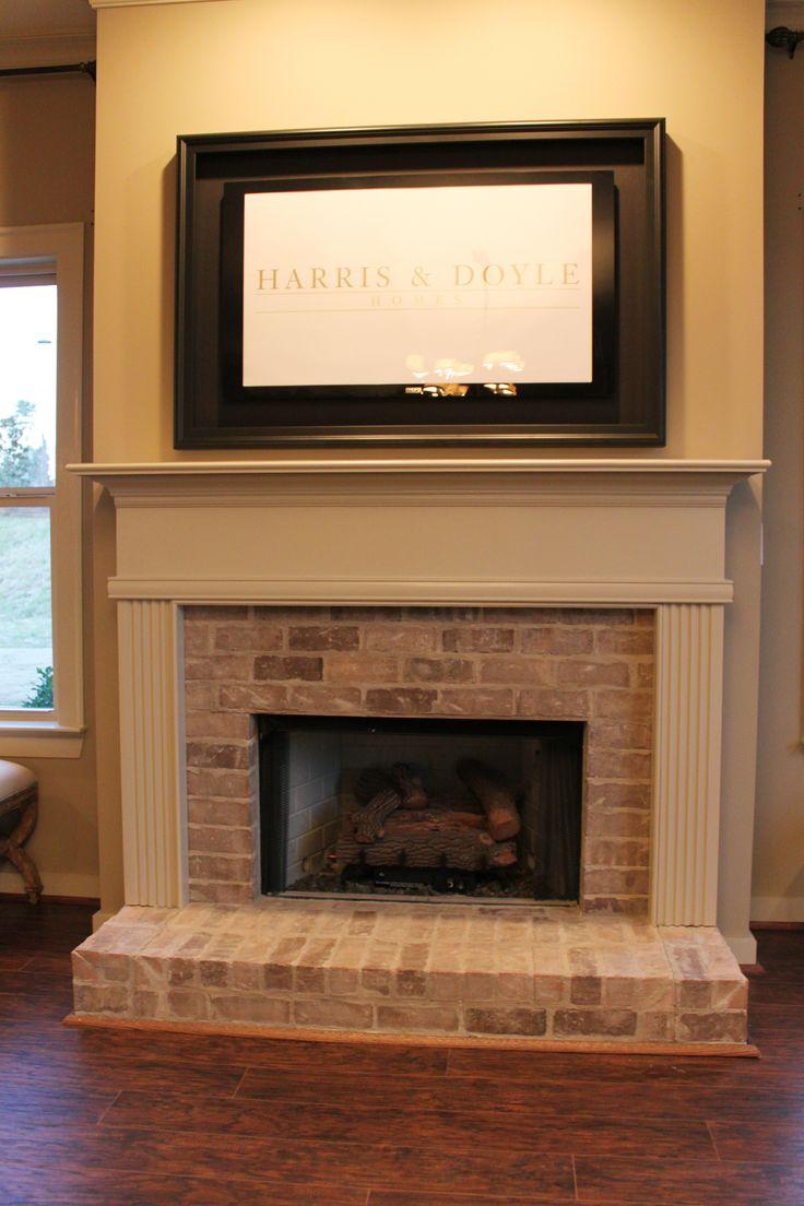 25 Best Ideas About Brick Hearth On Pinterest Brick Fireplace