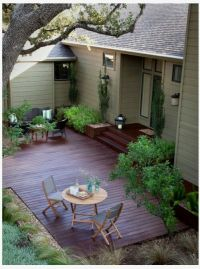 17 Best ideas about Ground Level Deck on Pinterest ...