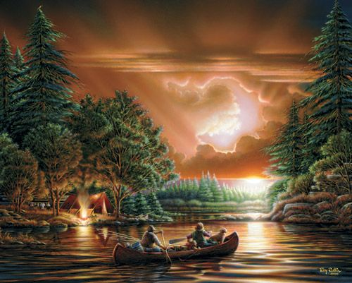 Thomas Kinkade Fall Desktop Wallpaper 26 Best Images About Terry Redlin Jigsaw Puzzles On