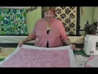 The Self Binding Baby Quilt (Receiving Blanket) | Sewing ...