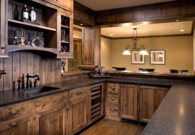 Kitchen Cabinet Bar Ideas