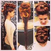 ideas big hair updo