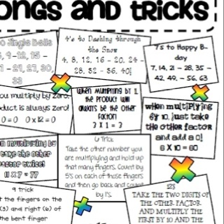 Multiplication songs, Multiplication and Songs on Pinterest