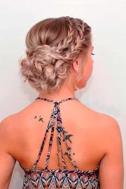 ideas prom hair