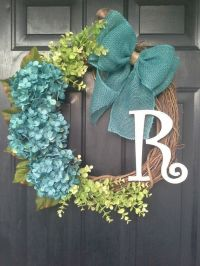 25+ Best Ideas about Hydrangea Wreath on Pinterest ...