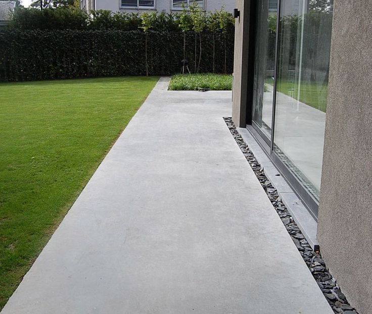 25 Best Ideas About Terrasse En Beton On Pinterest Cour En