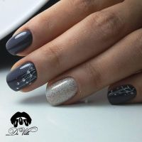 25+ best ideas about Grey nail designs on Pinterest | Gel ...