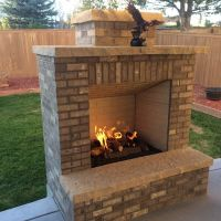 Simple Outdoor Fireplace Plans Pictures to Pin on