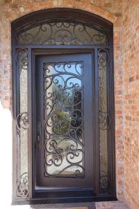 17 Best ideas about Iron Doors on Pinterest   Wrought iron ...