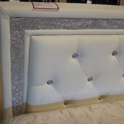 Big Living Room Mirrors Paint Ideas India Rhinestone Bed | Furniture Pinterest Beds And Rhinestones