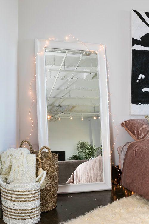25 Best Ideas About Leaning Mirror On Pinterest Floor
