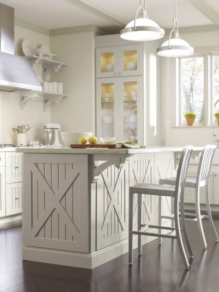 martha stewart white kitchen Beautiful millwork details from Martha Stewart's horse