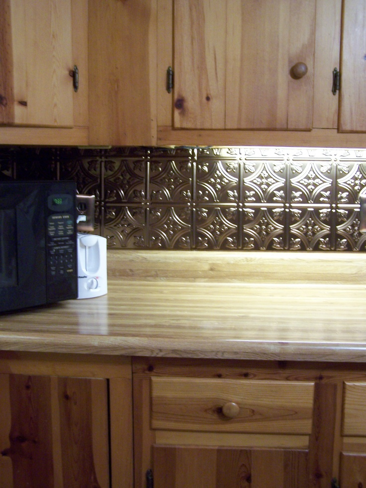 kitchen cabinet redo island clearance update backsplash with the new thermoplastic ...