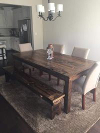 25+ best ideas about Rustic wood tables on Pinterest ...