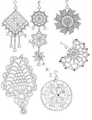25+ best ideas about Crochet Jewelry Patterns on Pinterest