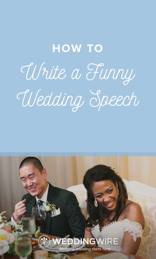 How to Write a Funny Wedding Speech  Funny wedding speeches and Funny weddings