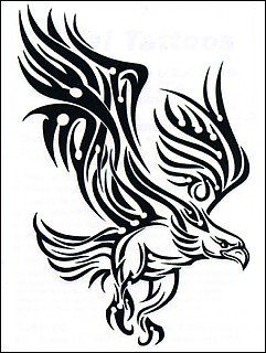 17 Best ideas about Tribal Eagle Tattoo on Pinterest
