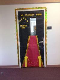 Star themed classroom door! | classroom ideas | Pinterest ...