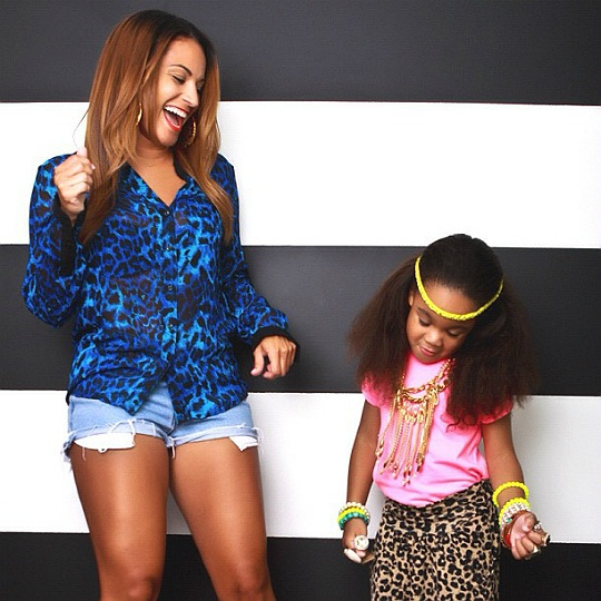 Tanks DAUGHTER Zoey Babbs GETS CUTESY With Her Mom Zena Foster  VIA The Young Black and