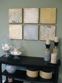 1000+ ideas about Styrofoam Wall Art on Pinterest | Fabric ...