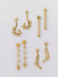 35 best images about Beautiful gold earrings @ factory ...