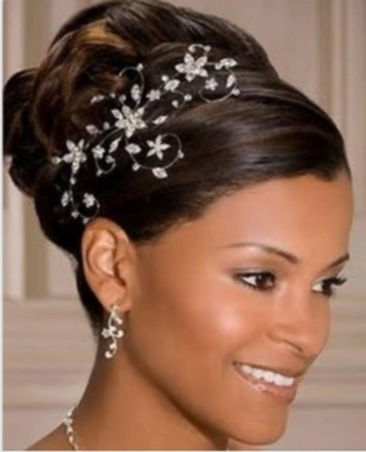 1000+ ideas about Black Wedding Hairstyles on Pinterest
