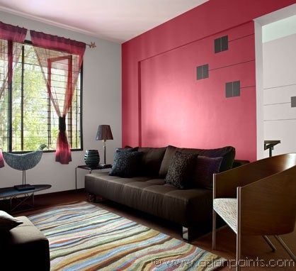 grey fabric l shaped sofa white bed uk interior design ideas - asian paints | room inspirations ...