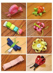 1000 ideas ribbon hair clips