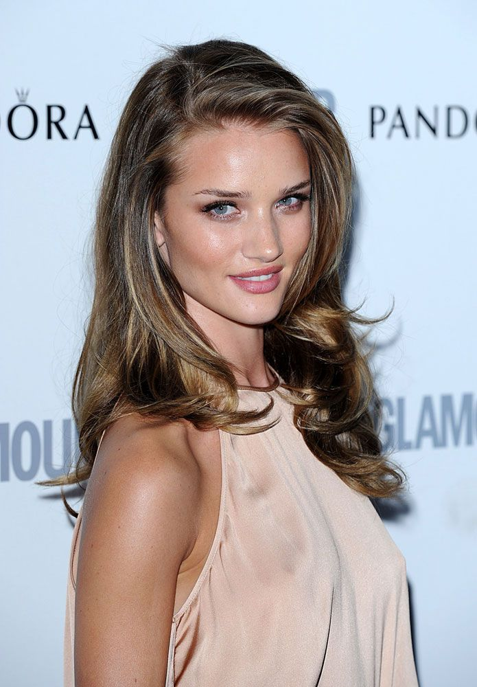 Rosie Huntington Whiteley Hair Color Style Inspiration