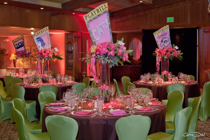 Broadway Theme Broadway Theme Bar And Bat Mitzvah Ideas
