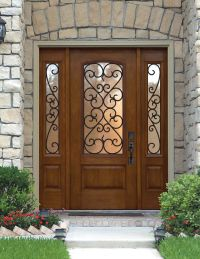 25+ best ideas about Exterior doors with glass on