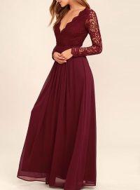 Best 25+ Burgundy Bridesmaid Dresses ideas on Pinterest ...