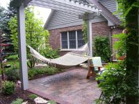 hammock hanging from pergola | Deck decorating | Pinterest ...