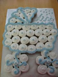 Baby buggy, Cupcake cakes and Cake baby on Pinterest