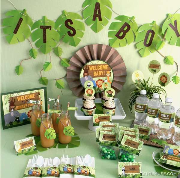Best 20+ Jungle baby showers ideas on Pinterest