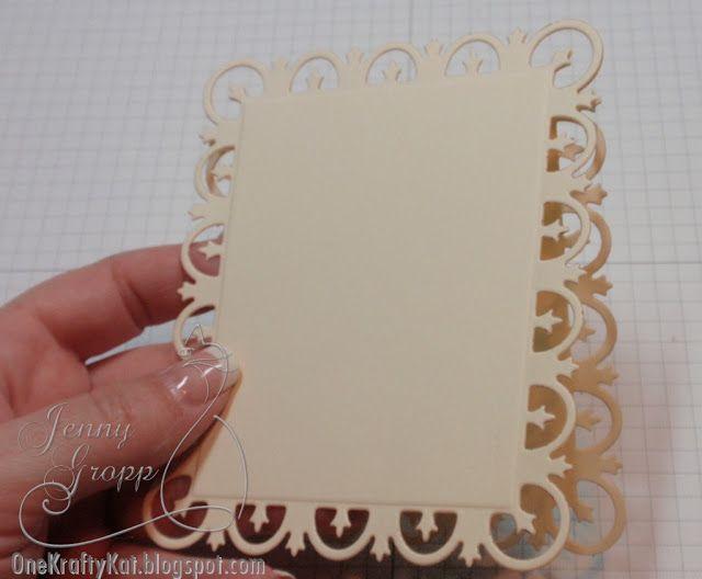 Tutorial: how to make die-cut cards