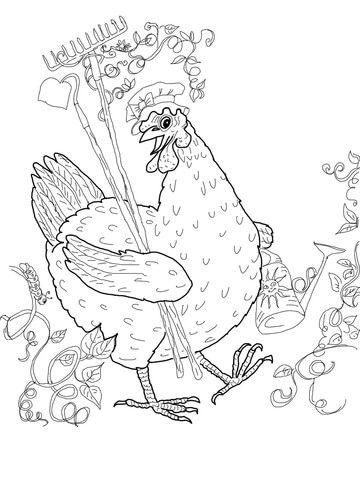 243 best images about Conte la petite poule rousse on