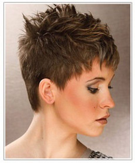 25 Best Ideas About Short Spiky Hairstyles On Pinterest Spiky