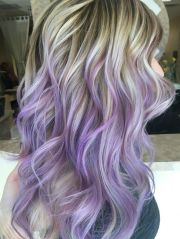 purple highlights ideas